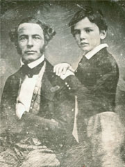 Robert E. Lee and Son, William Henry Fitzhugh Lee, ca. 1845